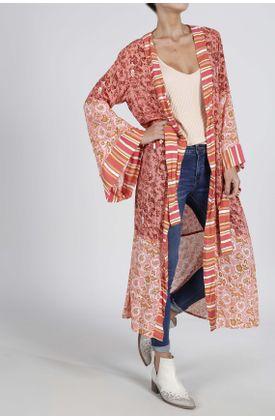 Kimono-estampado-2-telas-de-flores-y-unas-rayas