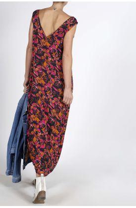Vestido-larga-estampado-flores-fucsia