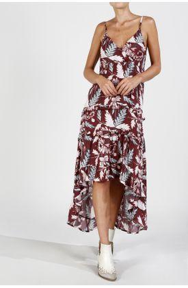 Vestido-largo-estampado-flores-fondo-vino