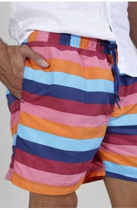 Pantaloneta-plano-estampado-rayas-multicolor