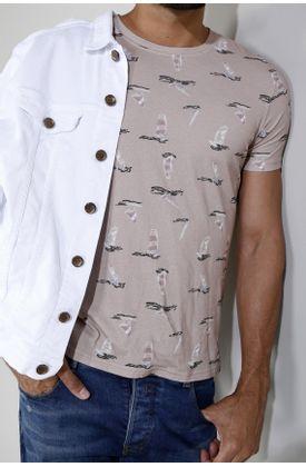 Tshirt-estampado-veleros-fondo-rosado