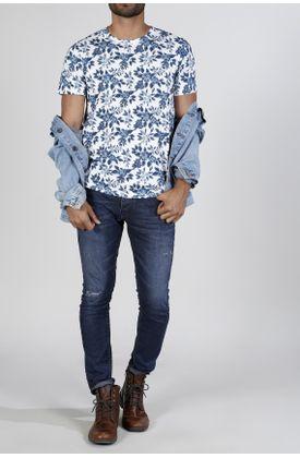 Tshirt-estampado-flores-azules
