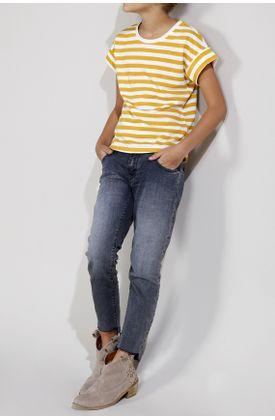 Tshirt-estampado-rayas-mostaza