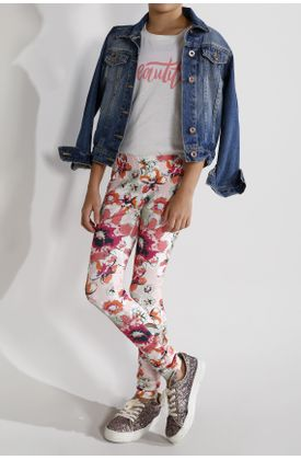Pantalon-estampado