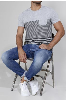 Tshirt-estampado-rayas-grises