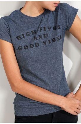 Tshirt-estampado-high-five-and-good-vibes