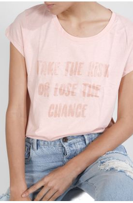 Tshirt-estampado-take-the-risk-or-loose-the-chance
