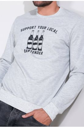 Buzo-de-punto-y-estampado-support-your-local-bartender-