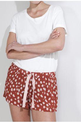 Pijama-parte-inferior-con-estampado-puntos-rosados
