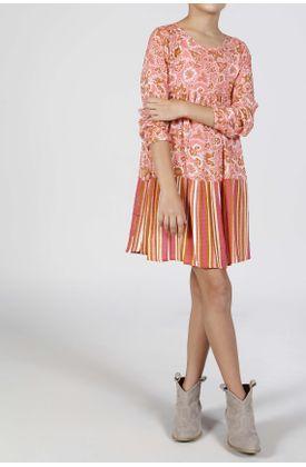 Vestido-corto-estampado-estampado-rayas-y-flores
