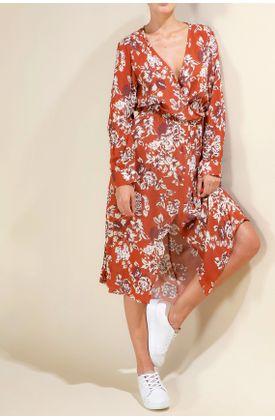 Vestido-TopMark-largo-y-full-estampado-de-flores