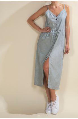Vestido-TopMark-largo-y-preteñido-de-rayas