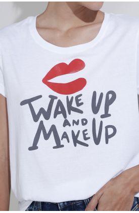 Tshirt-Tennis-estampado-wake-up-and-make-up