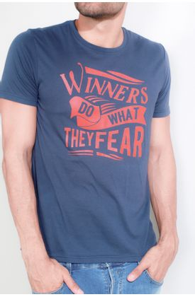 Tshirt-Tennis-estampado-winner-do-what-they-fear