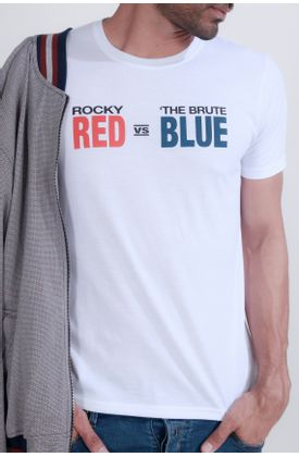 Tshirt-Tennis-estampado-rocky-red-vs-the-brute-blue