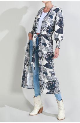 Kimono-Tennis-estampado-animal-print-y-flores