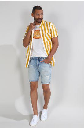 Camisa-Tennis-by-Poker-estampada-y-manga-corta
