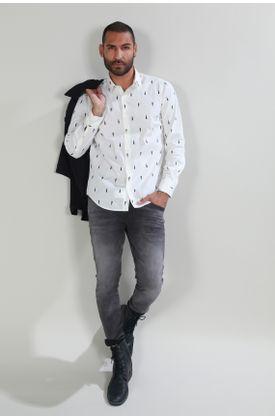 Camisa-Tennis-by-Poker-estampada-y-manga-larga
