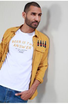 Tshirt-Tennis-by-Poker-estampado-beer-is-the-answer