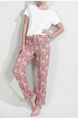 Pijama-Tennis-parte-inferior-con-estampado-de-flores
