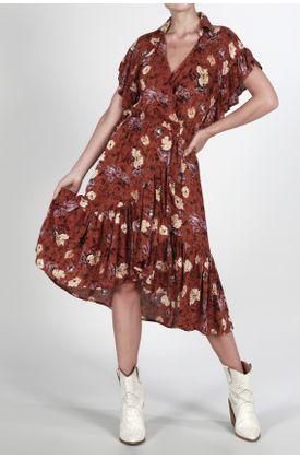Vestido-Tennis-medio-y-estampado-de-flores