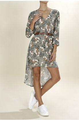 Vestido-marca-TopMark-largo-y-estampado-pieles-psicodelicas