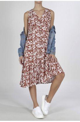 Vestido-Tennis-largo-y-estampado-de-flores
