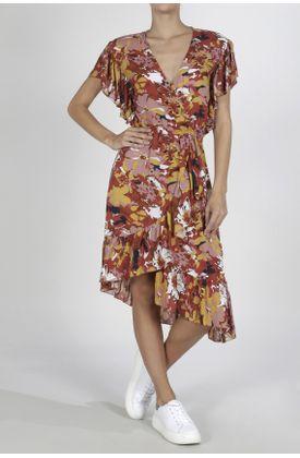 Vestido-Tennis-medio-y-estampado-de-flores-grandes