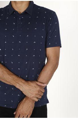 Polo-Tennis-estampado-patos-y-triangulos