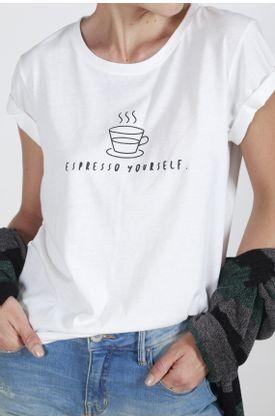 Tshirt-Tennis-con-estampado-espresso-yourself