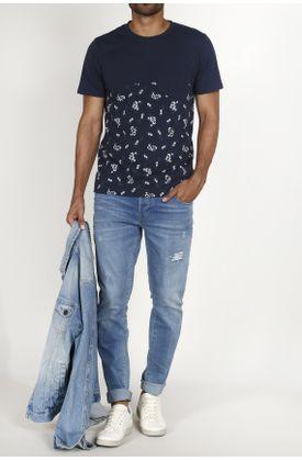 Tshirt-Tennis-con-estampado-flores