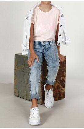 T-shirt-niña-Tennis-estampado-meow