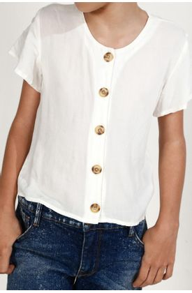 Camisa-niña-Tennis-fondo-entero-y-manga-corta