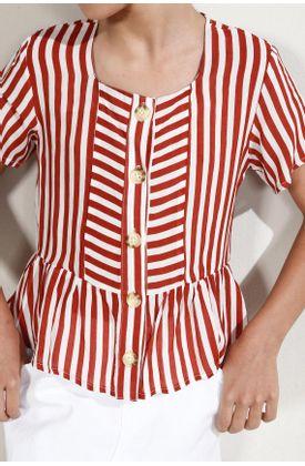 Camisa-niña-Tennis-estampado-y-manga-corta