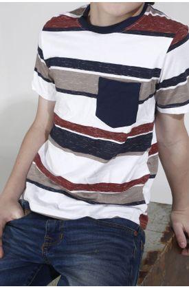 Tshirt-niño-estampado-bloque-rayas