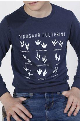 Buzo-niño-Tennis-estampado-Dinosaur-Footprint