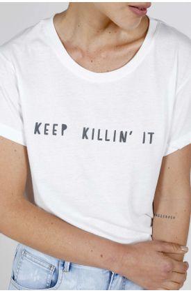 Tshirt-Topmark-estampado-keep-killin-it