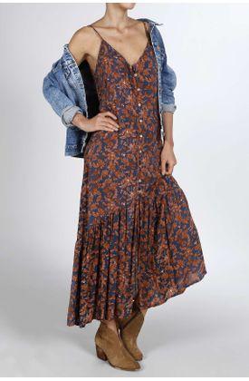 Vestido-TopMark-largo-y-con-estampado-flores