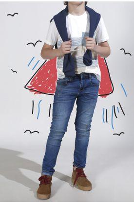 Tshirt-niño-estampado-rayas