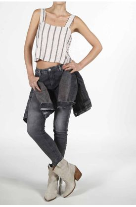 Camisa-para-mujer-TopMark-preteñida-y-de-tiras