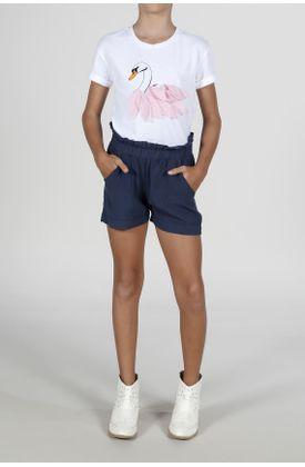 Short-para-niña-Tennis-tiro-corto-ajustado-y-fondo-entero