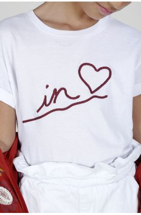 Tshirt-para-niña-Tennis-estampado-de-in-love