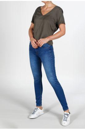 Camisa-para-mujer-TopMark-fondo-entero-y-manga-corta