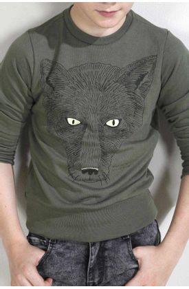 Buzo-niño-de-punto-y-estampado-de-lobo