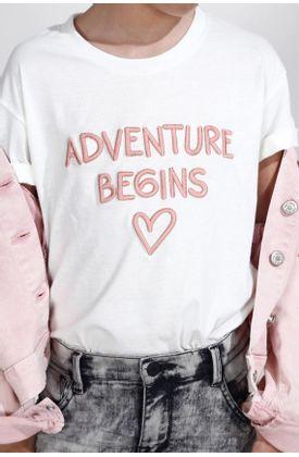 Tshirt-para-niña-Tennis-estampado-de-adventure-begin