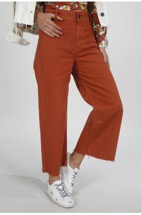 Jean-para-mujer-Tennis-silueta-moda-plano-y-cintura-con-pretina