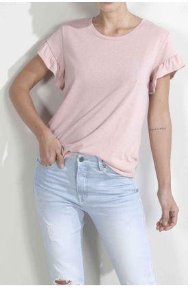 Tshirt-para-mujer-Tennis-fondo-entero-rosada
