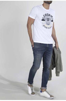 Tshirt-para-hombre-Tennis-con-estampado-gorilla-urban