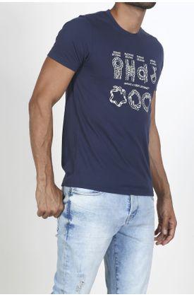 Tshirt-para-hombre-Tennis-con-estampado-nudos-marinos