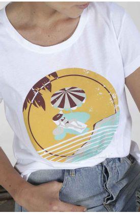 Tshirt-para-mujer-Tennis-con-estampado-home-is-where-the-beach-is